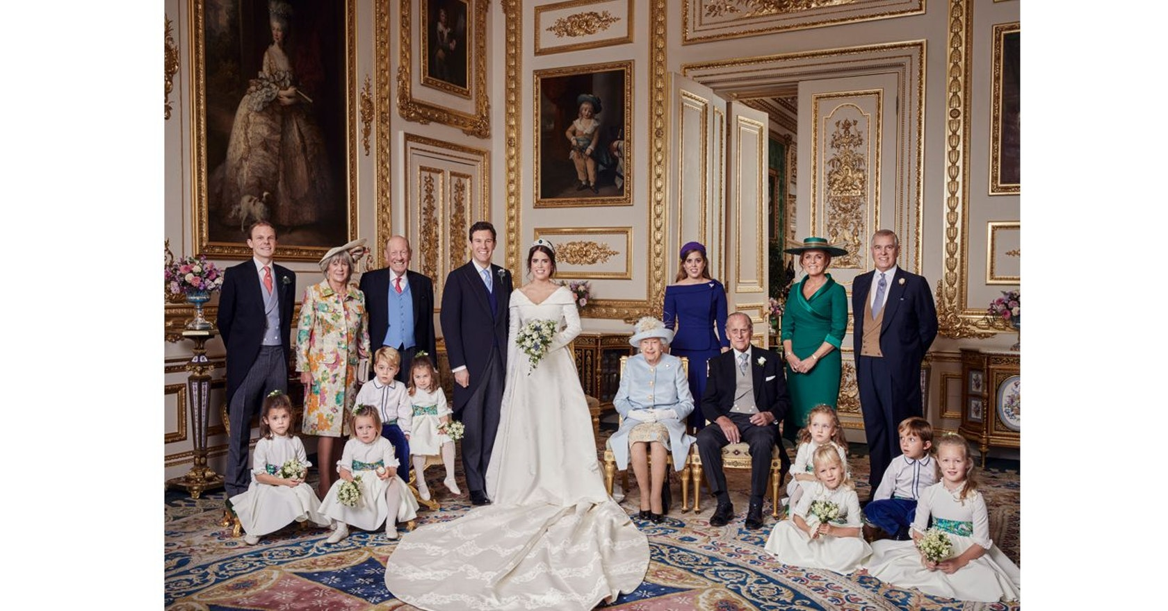 These are Princess Eugenie's official wedding photos