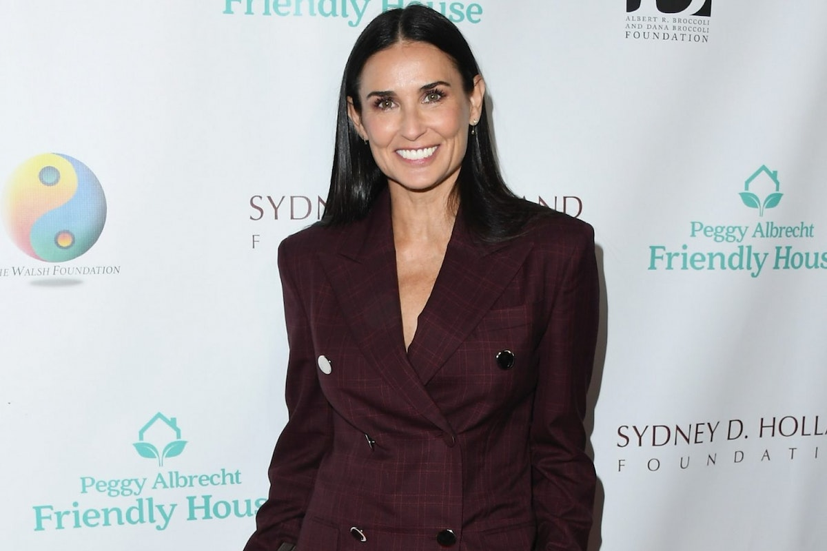 BEVERLY HILLS, CA - OCTOBER 27: Demi Moore attends Peggy Albrecht Friendly House's 29th Annual Awards Luncheon at The Beverly Hilton Hotel on October 27, 2018 in Beverly Hills, California. (Photo by Jon Kopaloff/FilmMagic)