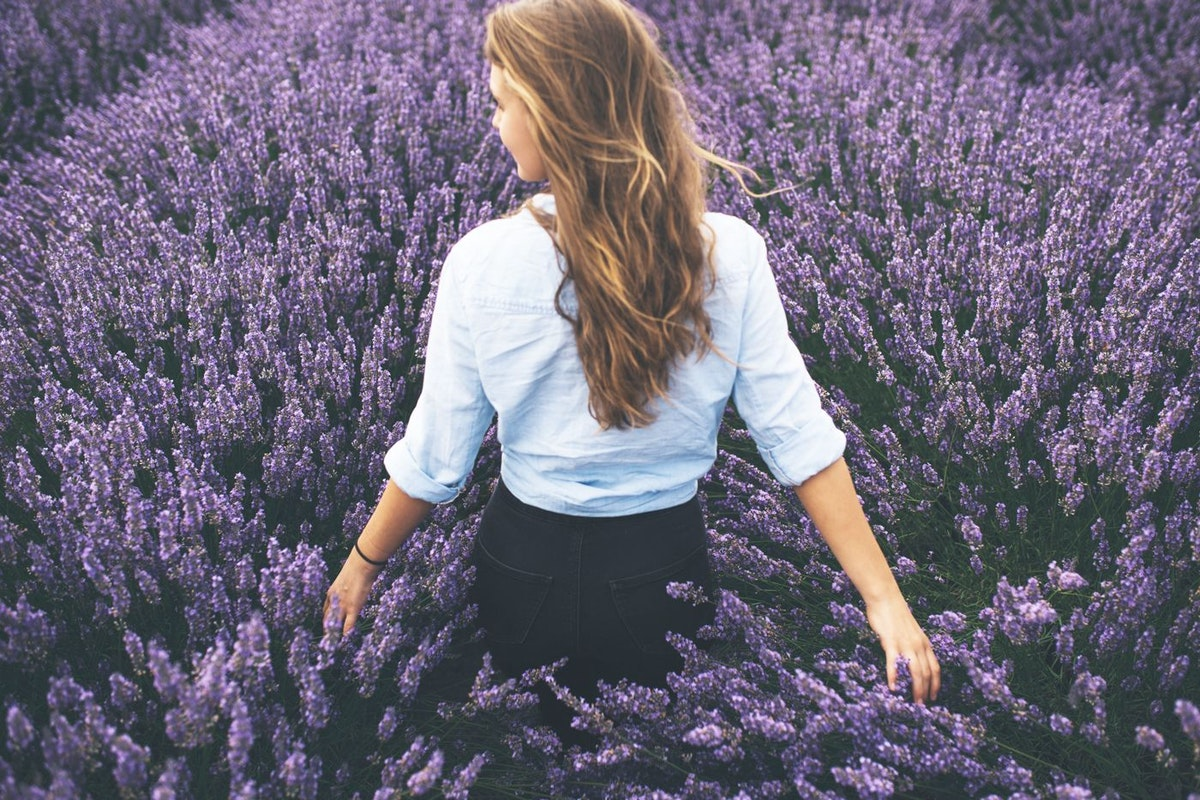 Lavender products to de-stress
