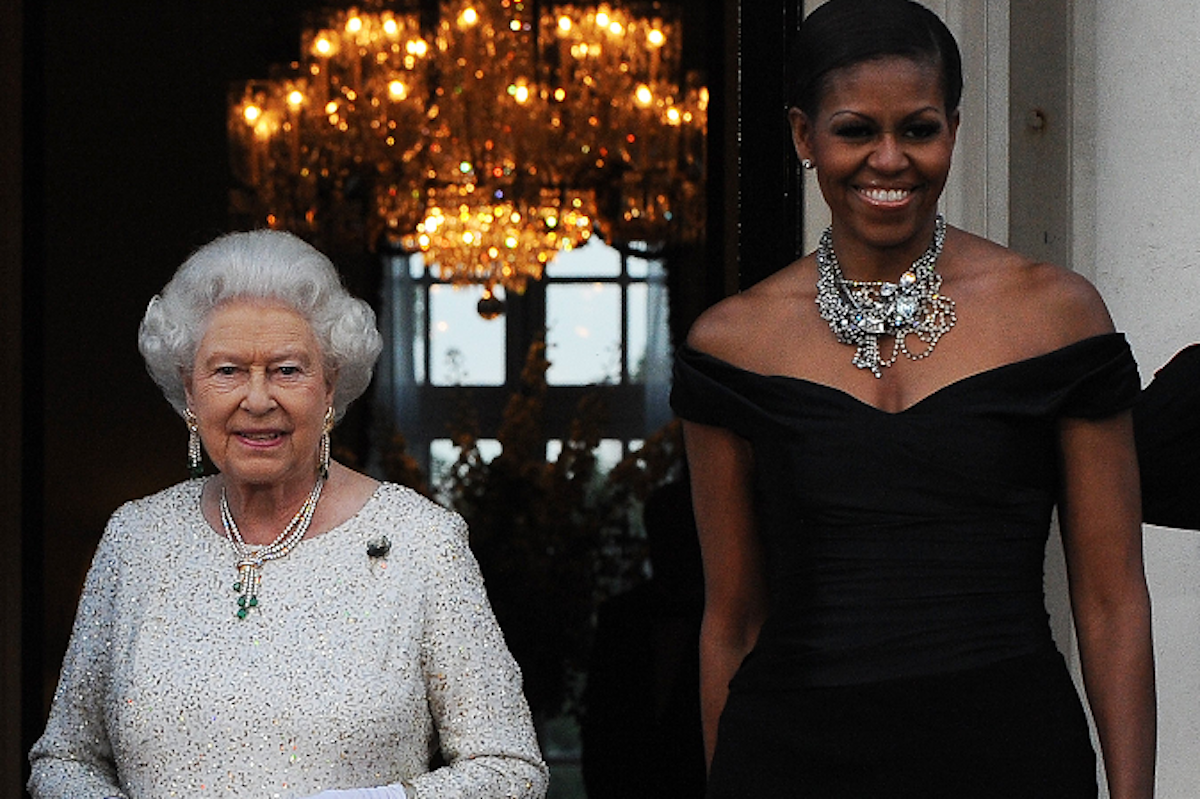 How the Queen and Michelle Obama bonded over shoes