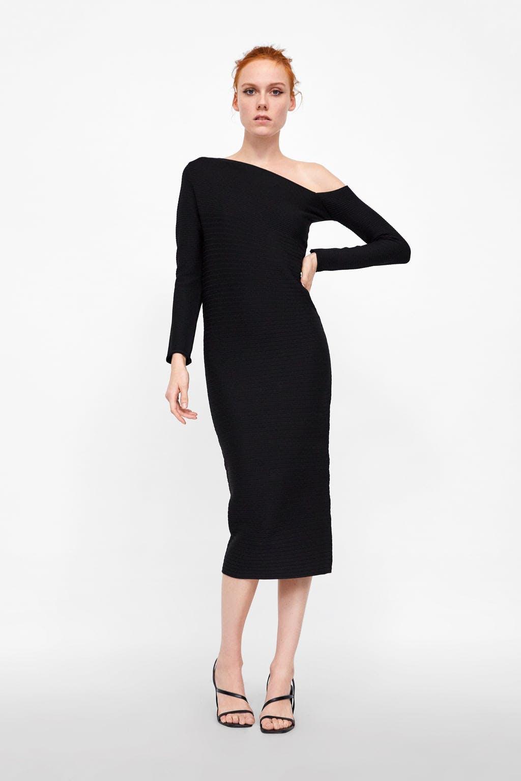 8 Timeless Black One Shoulder Dresses To Channel Meghan Markle
