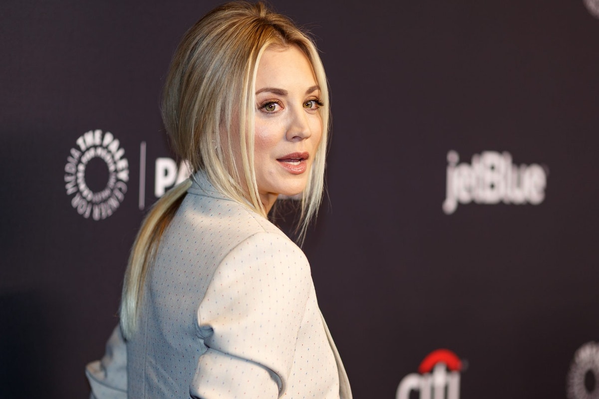 HOLLYWOOD, CA - MARCH 21: Kaley Cuoco attends the 2018 PaleyFest Los Angeles - CBS's 'The Big Bang Theory' And 'Young Sheldon' on March 21, 2018 in Hollywood, California. (Photo by Christopher Polk/Getty Images)