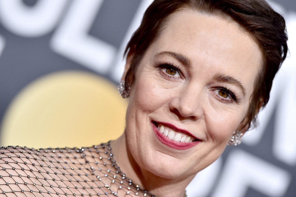 BEVERLY HILLS, CA - JANUARY 06: Olivia Colman attends the 76th Annual Golden Globe Awards at The Beverly Hilton Hotel on January 6, 2019 in Beverly Hills, California. (Photo by Axelle/Bauer-Griffin/FilmMagic)