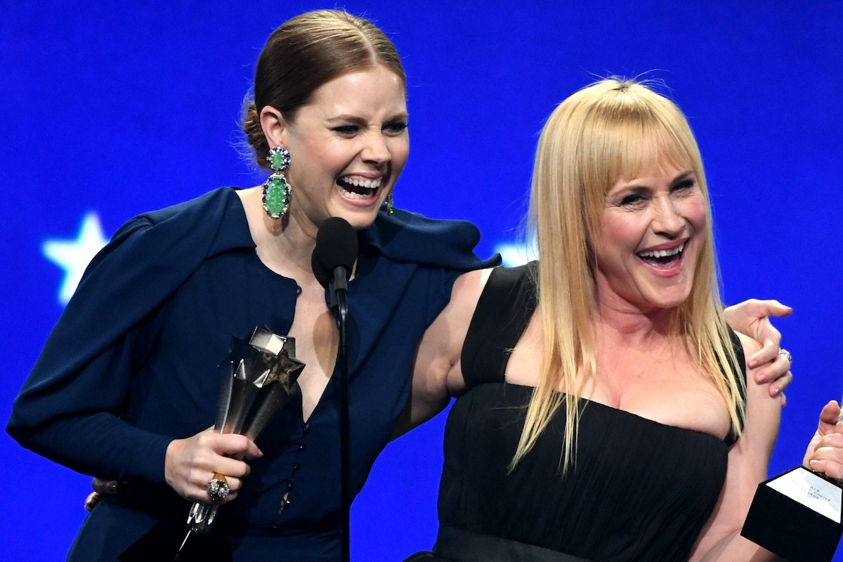 Amy Adams and Patricia Arquette win Best Actress at Critics Choice Awards 2019