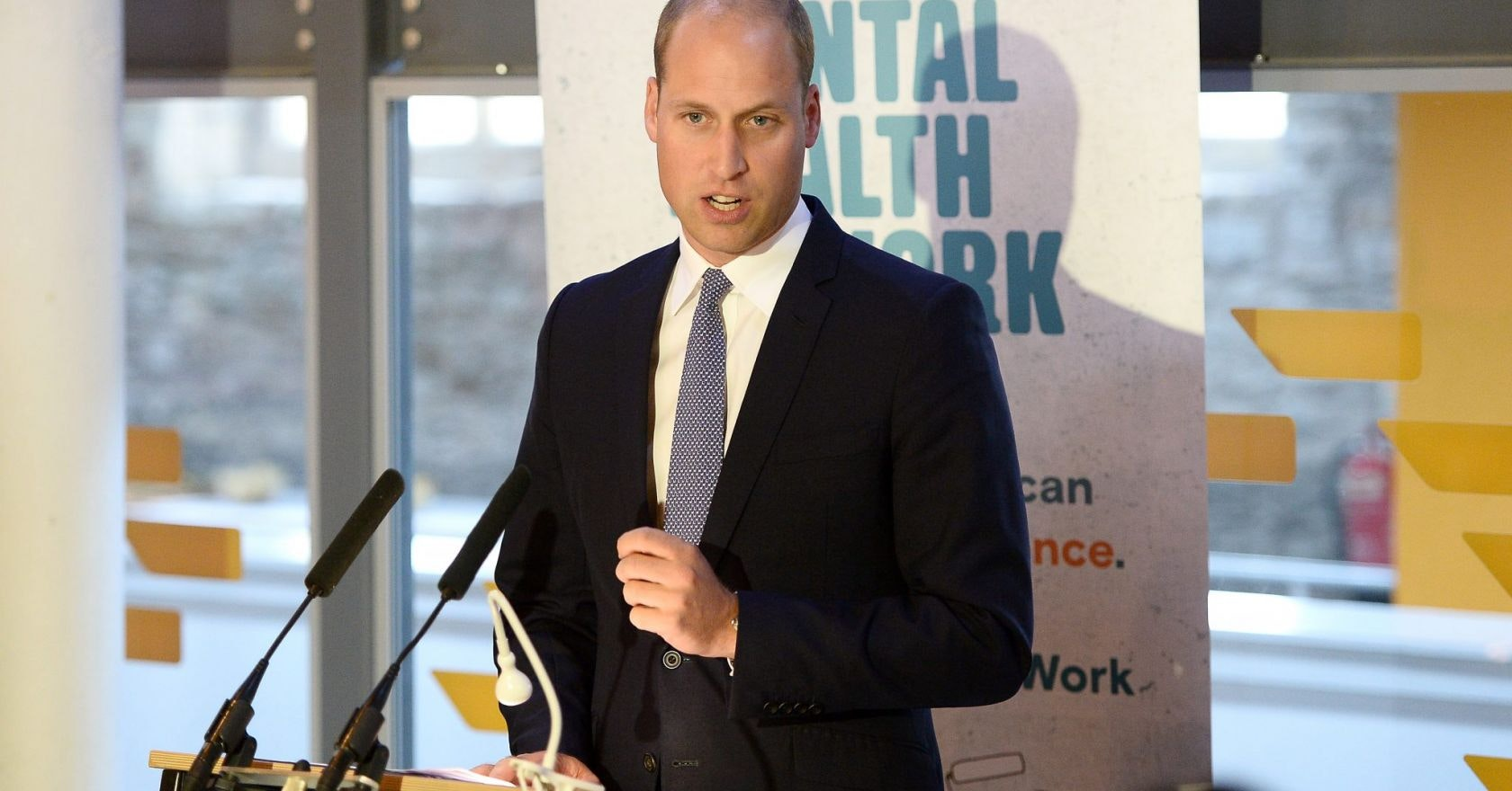 Prince William says celebrities were reluctant to put their name to mental health charity