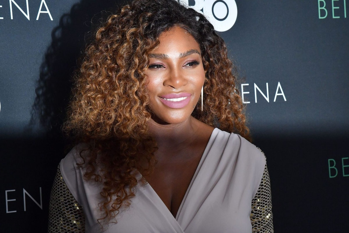 Serena Williams attends the HBO New York Premiere of 'Being Serena' at Time Warner Center on April 25, 2018 in New York City. (Photo by ANGELA WEISS / AFP) (Photo credit should read ANGELA WEISS/AFP/Getty Images)