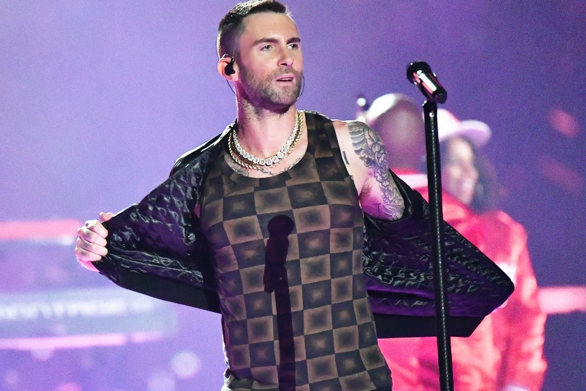 df602838 Adam Levine's Super Bowl performance exposes a sexist double standard