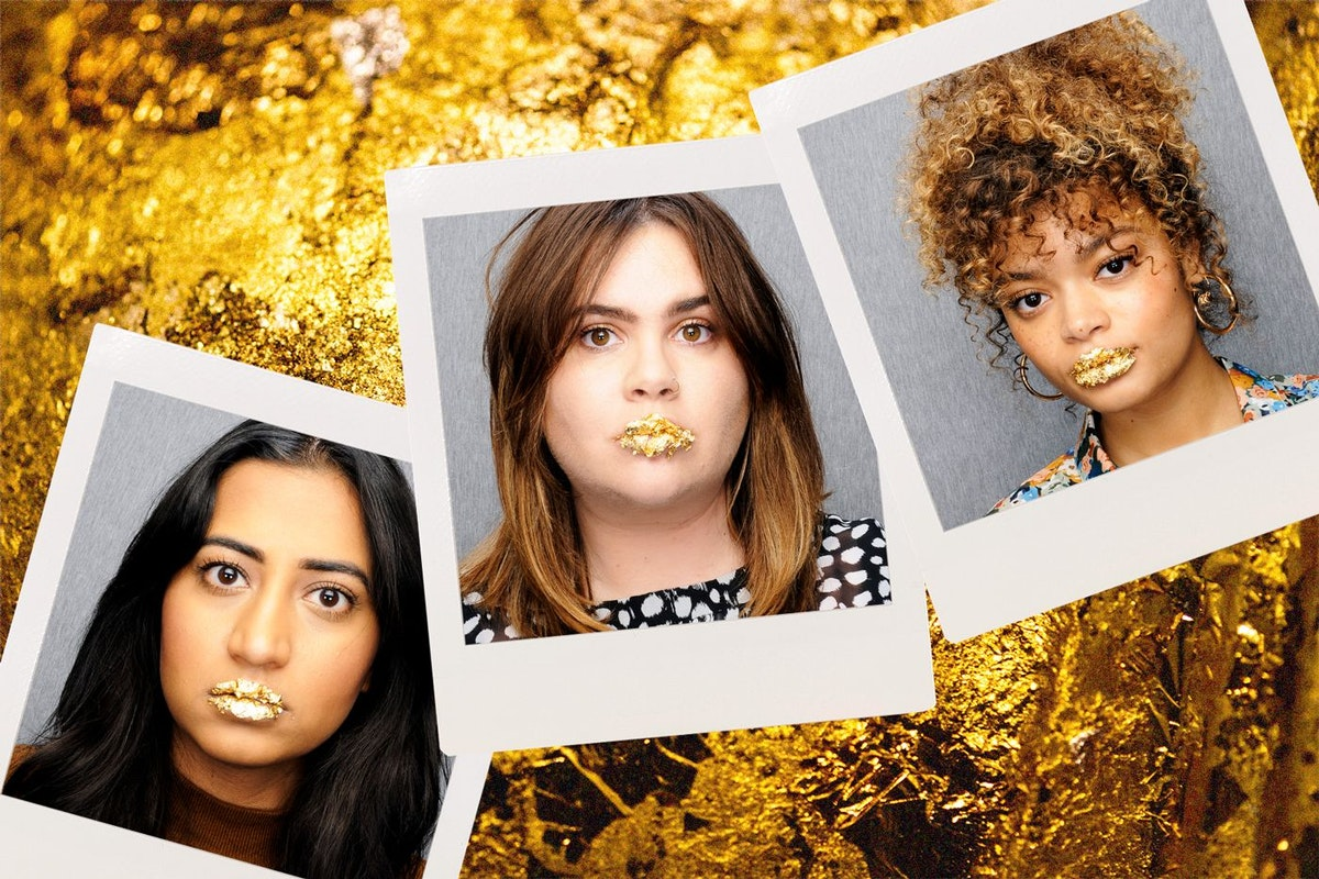 gold leaf lip trend trend on triall