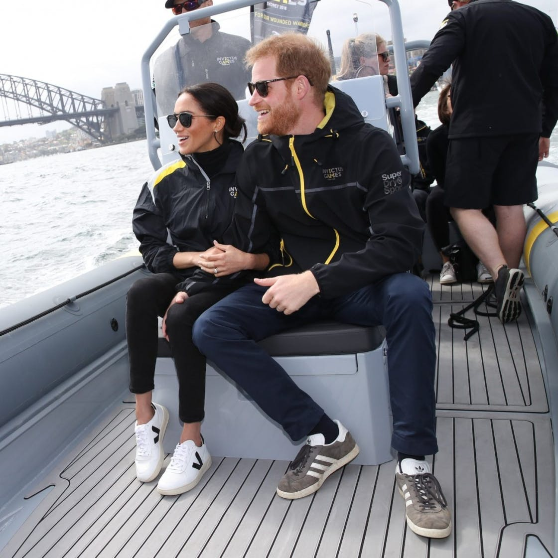 Meghan Markle's £115 Trainers Have Just Been Named The