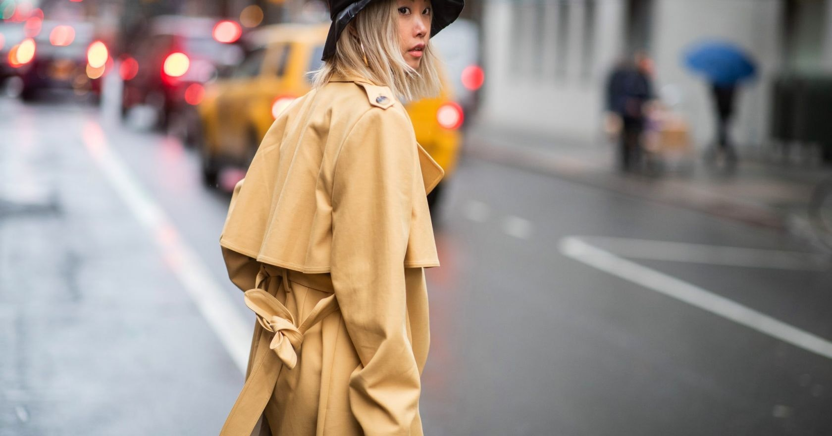 These are the hats, hairbands and scarves bossing New York street style