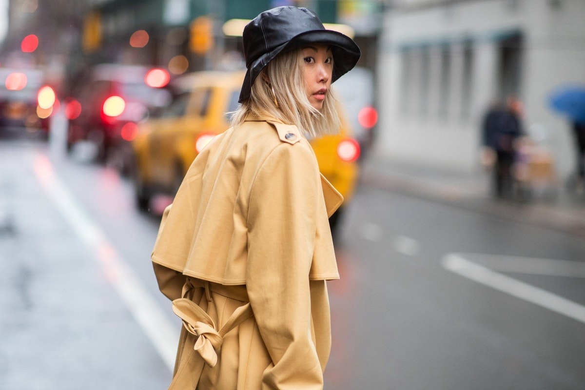 Bucket hat spotted at NYFW