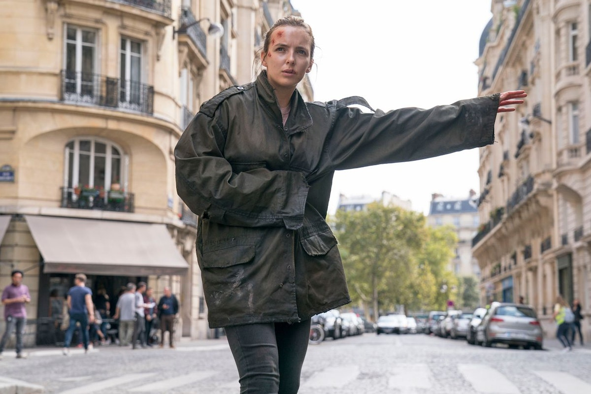 Killing Eve series 2 - Jodie Comer as Villanelle