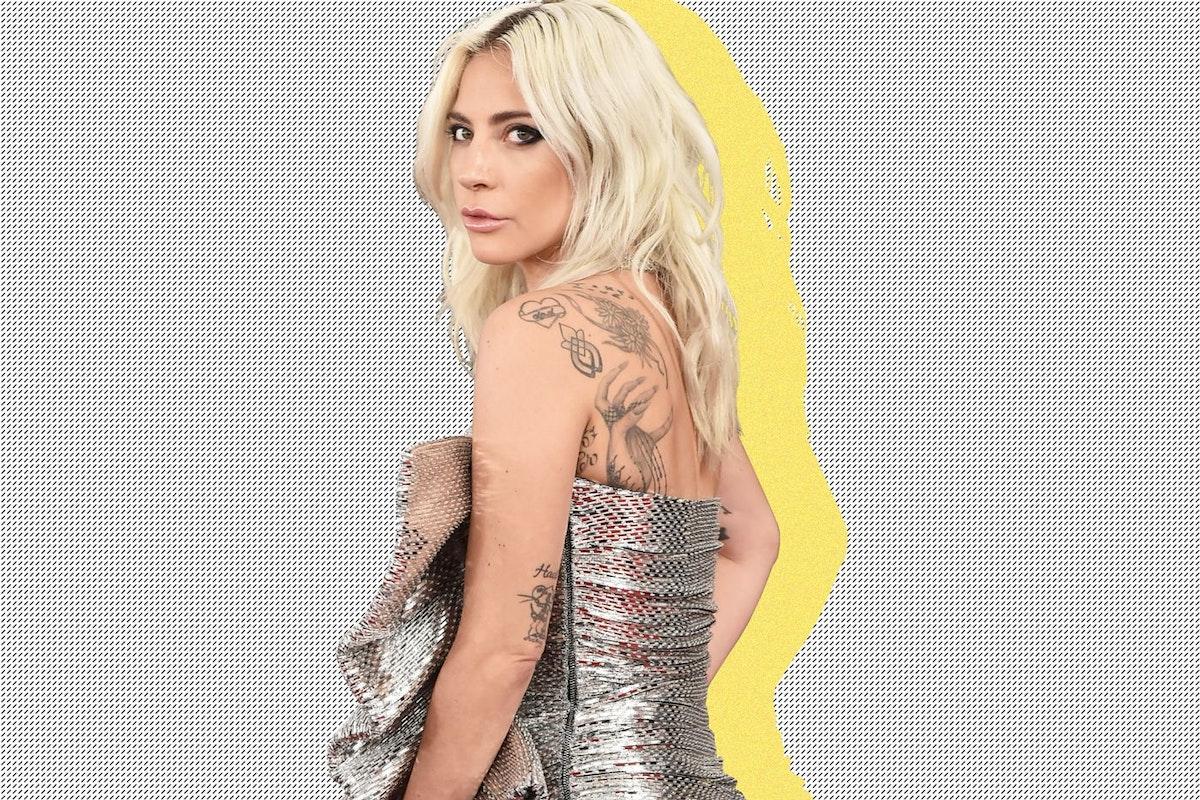 Lady Gaga at the 2019 Grammy Awards