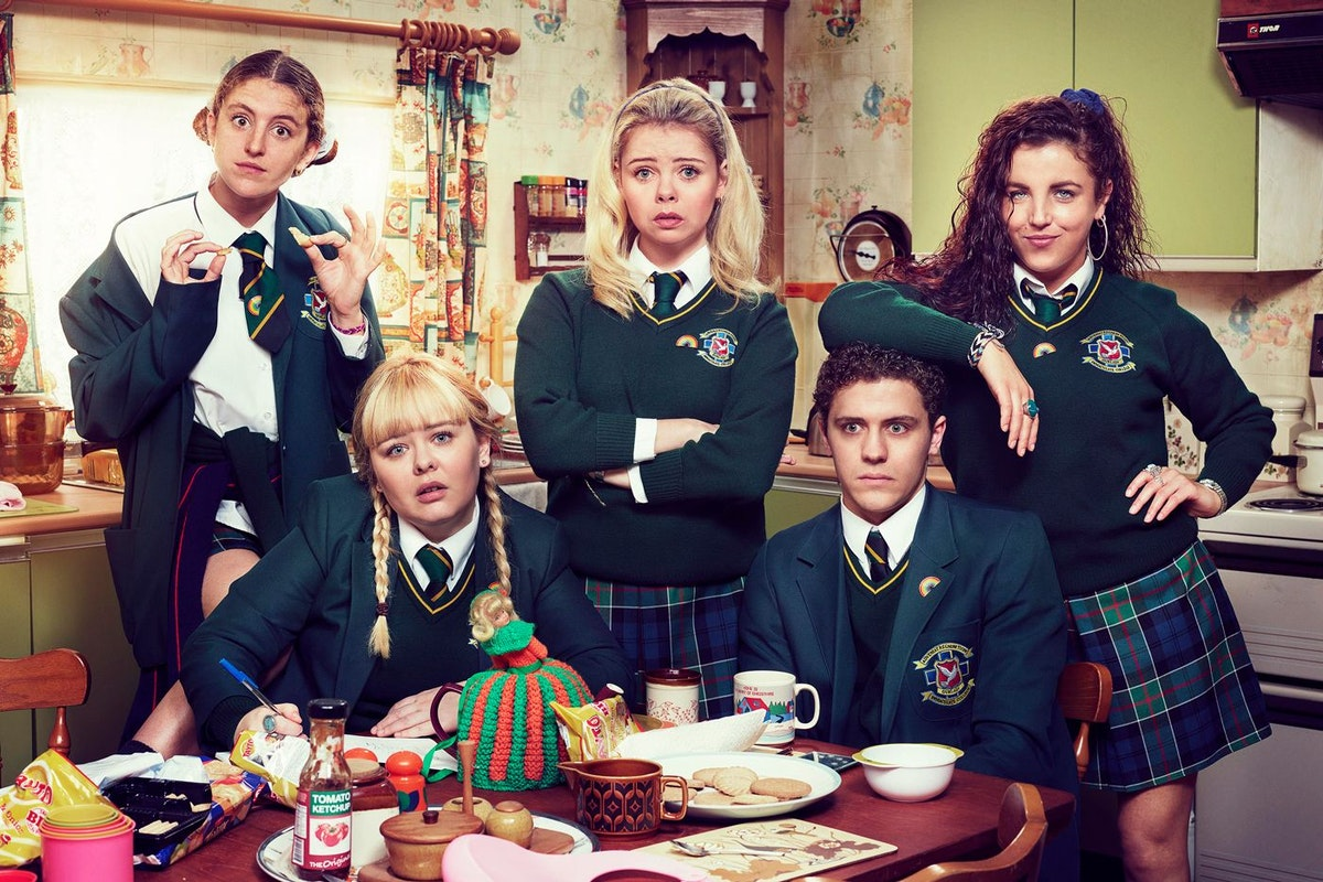 Derry Girls. Image: Channel 4