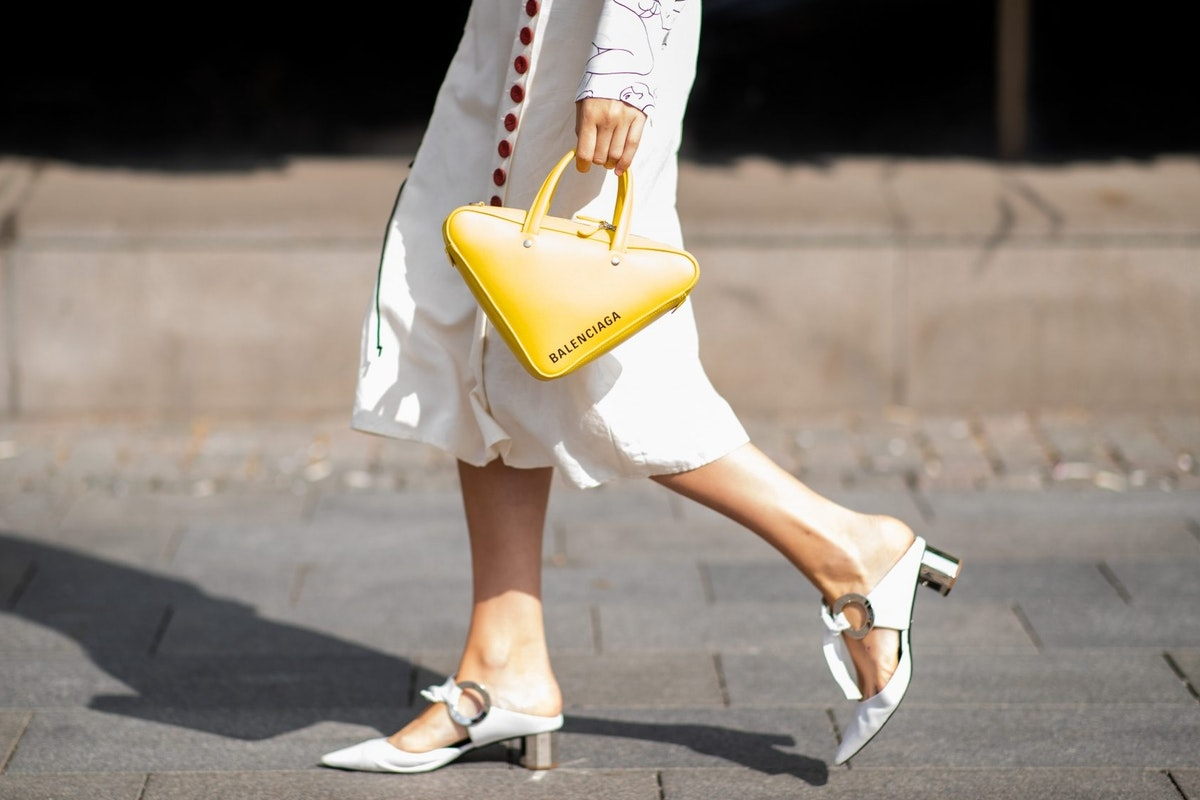 Street style of mules