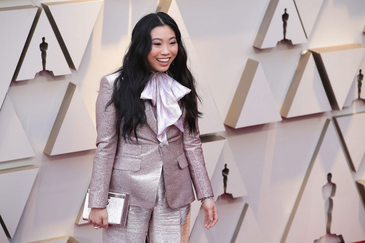 Awkwafina at the 91st academy awards red carpet