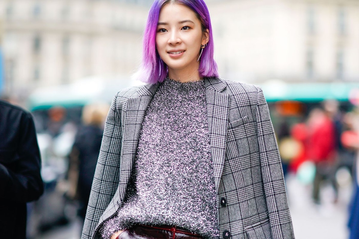 Street style - how to get lilac or purple hair using temporary, permanent and semi-permanent hair dyes