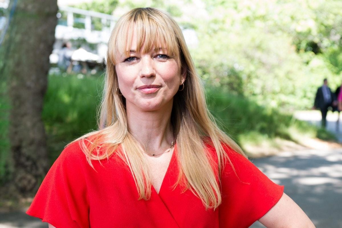 TV presenter Sara Cox