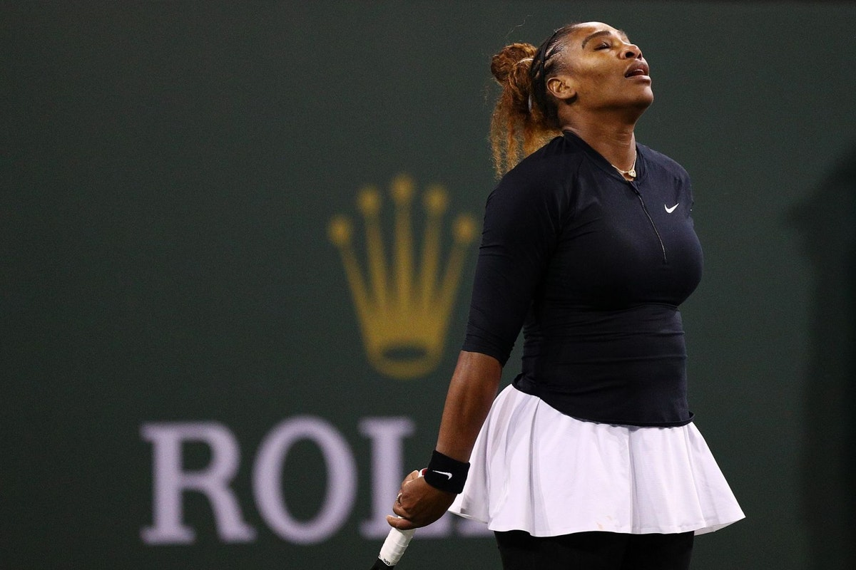 Grand Slam tennis champion Serena Williams
