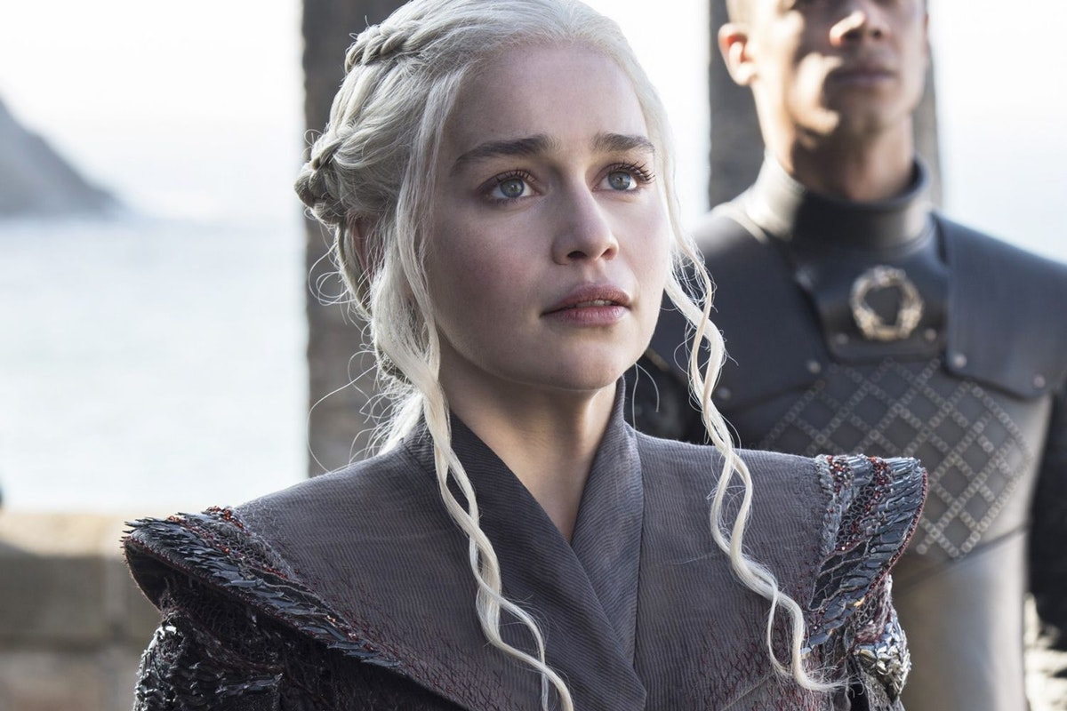 "Emilia Clarke isn't here for the ""anti-feminist"" backlash against Game of Thrones"