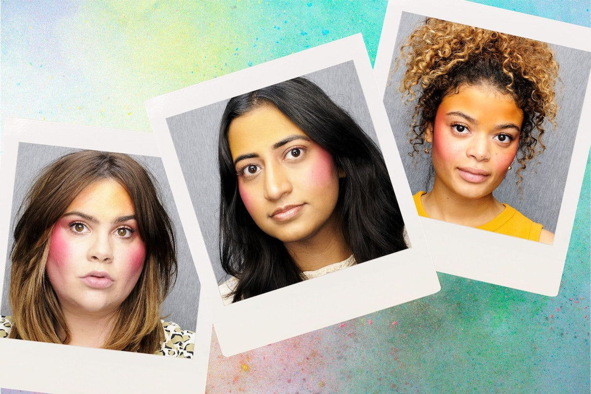 Trend on Trial: Stylist magazine team test Anna Sui SS19 dual yellow and pink blush