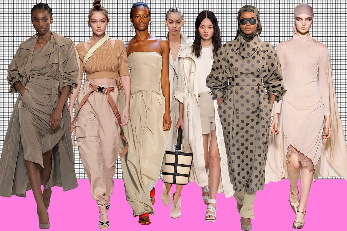 50 shades of beige: how to wear the most fashionable colour of 2019