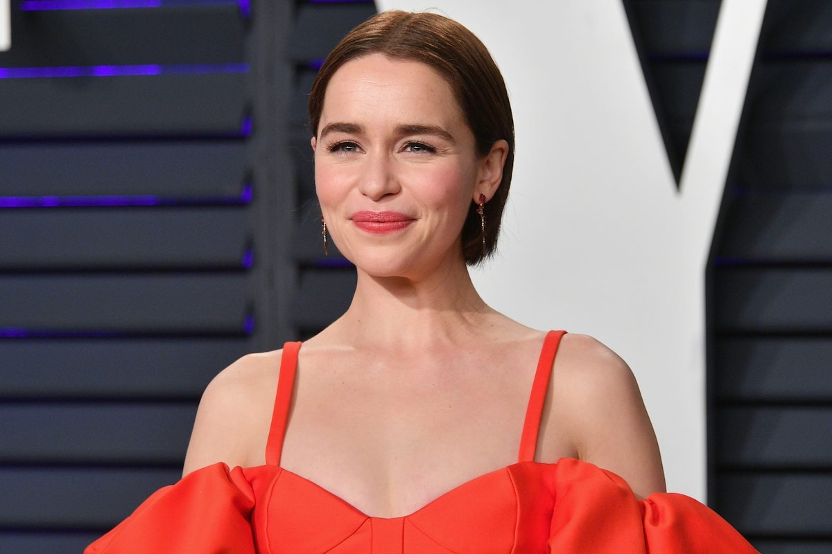 Game of Thrones star Emilia Clarke on the red carpet