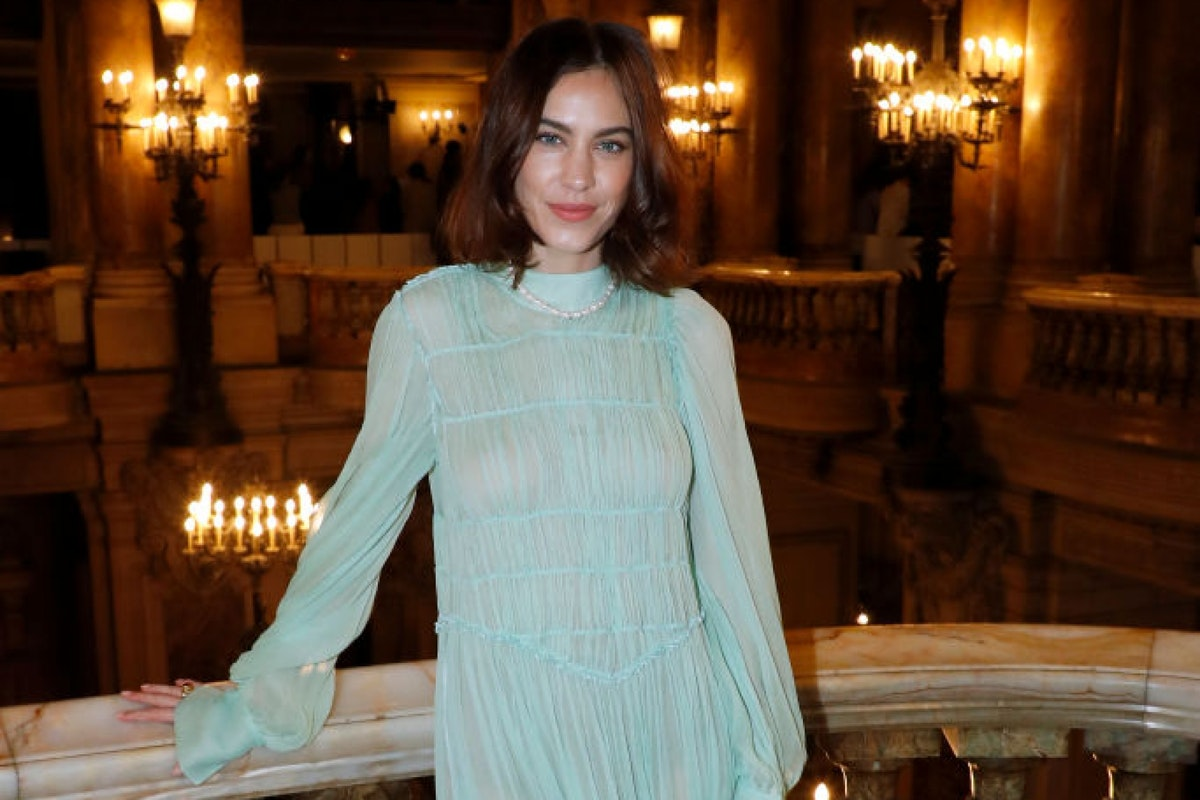 PARIS, FRANCE - MARCH 04: Alexa Chung attends the Stella McCartney show as part of the Paris Fashion Week Womenswear Fall/Winter 2019/2020 on March 04, 2019 in Paris, France. (Photo by Bertrand Rindoff Petroff/Getty Images)