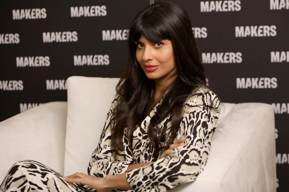 DANA POINT, CA - FEBRUARY 07: Jameela Jamil attends The 2019 MAKERS Conference at Monarch Beach Resort on February 7, 2019 in Dana Point, California. (Photo by Rachel Murray/Getty Images for MAKERS)