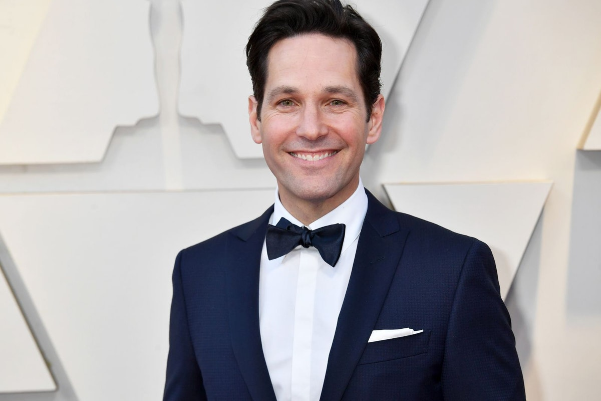 Paul Rudd on the red carpet in 2019