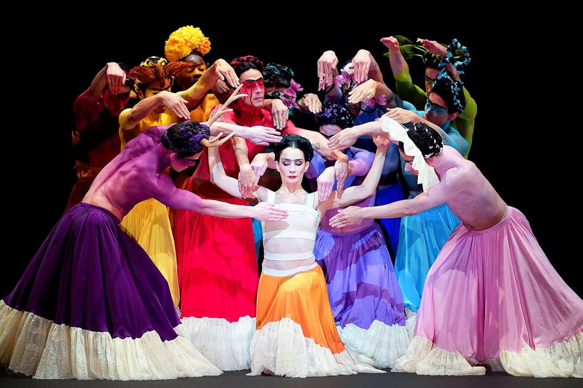 English National Ballet dancers performing