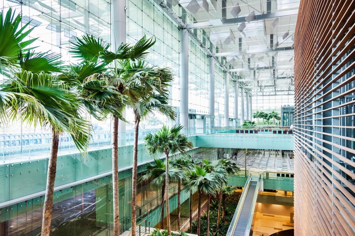 Terminal 3 at Changi Airport in Singapore