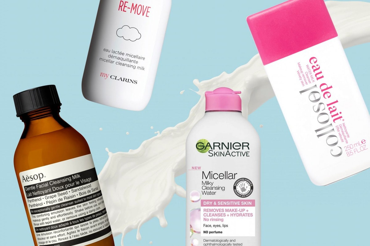 5 of the best milky cleansers that will easily remove make-up