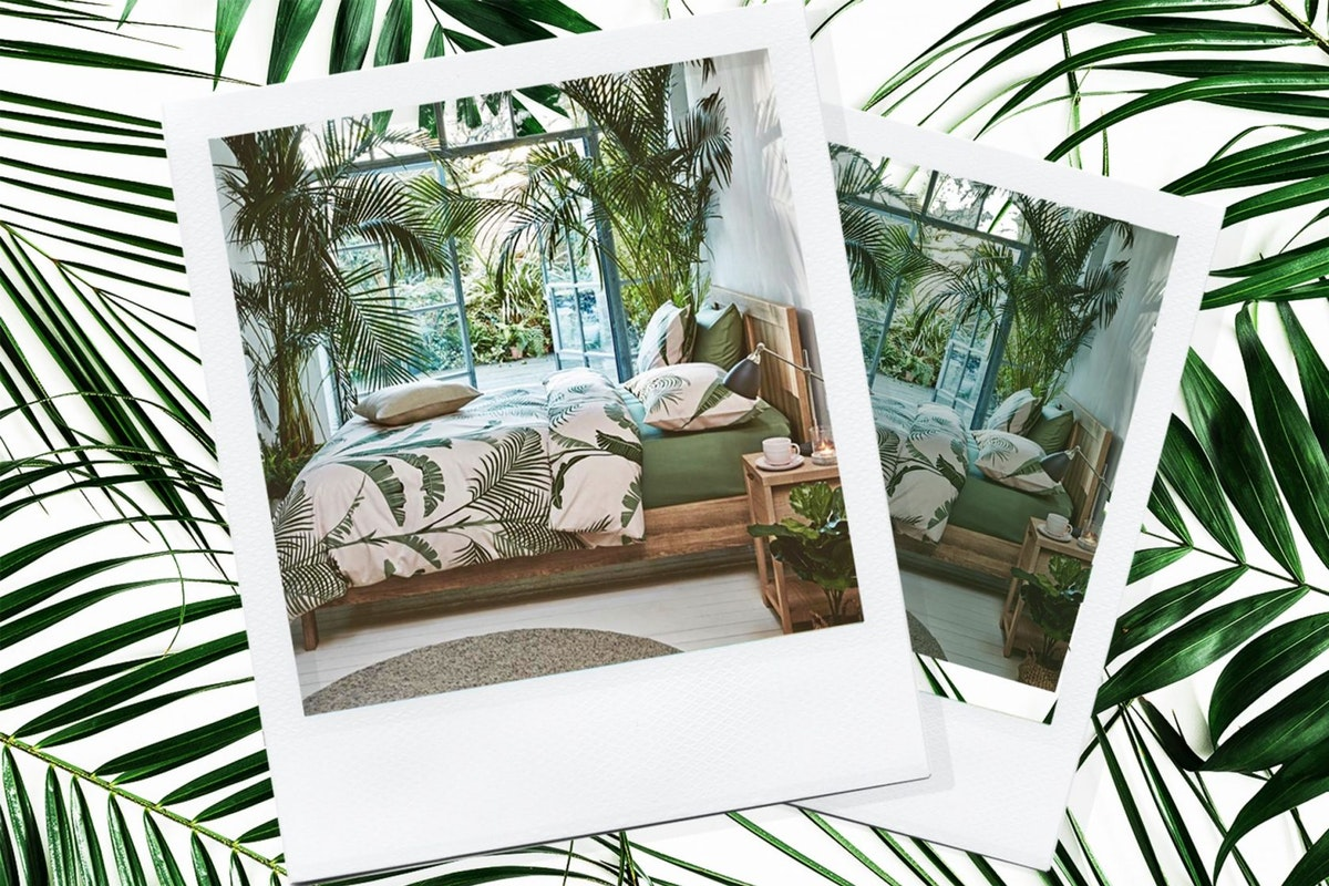 Why has this £23 M&S palm print duvet taken the world by storm?