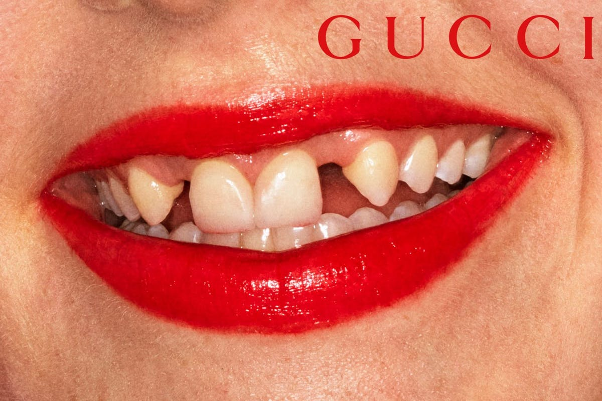 Why Gucci Beauty's lipstick campaign shots are important in the current age of perfectionism