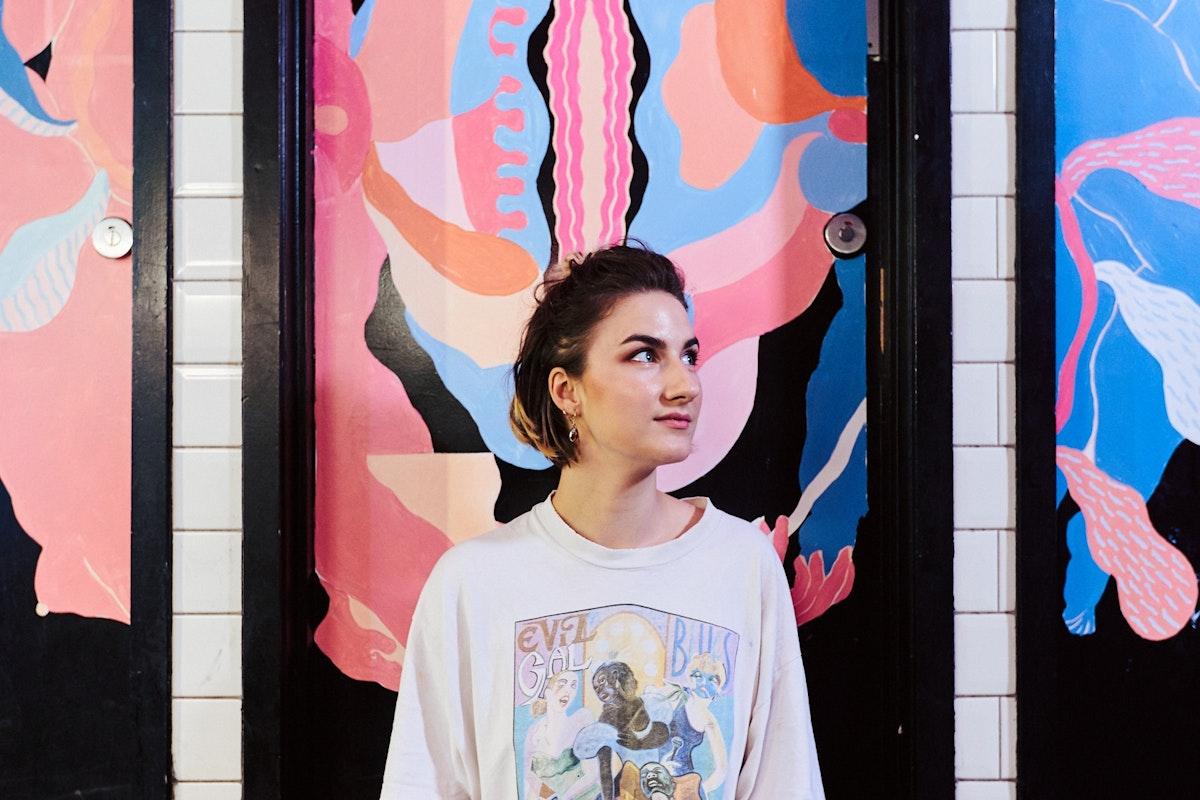 Vulva feminist art in London