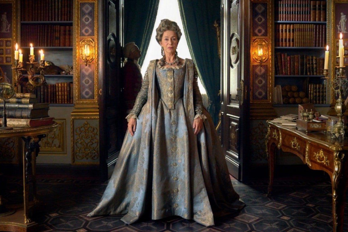 Helen Mirren as Catherine The Great will be your new obsession