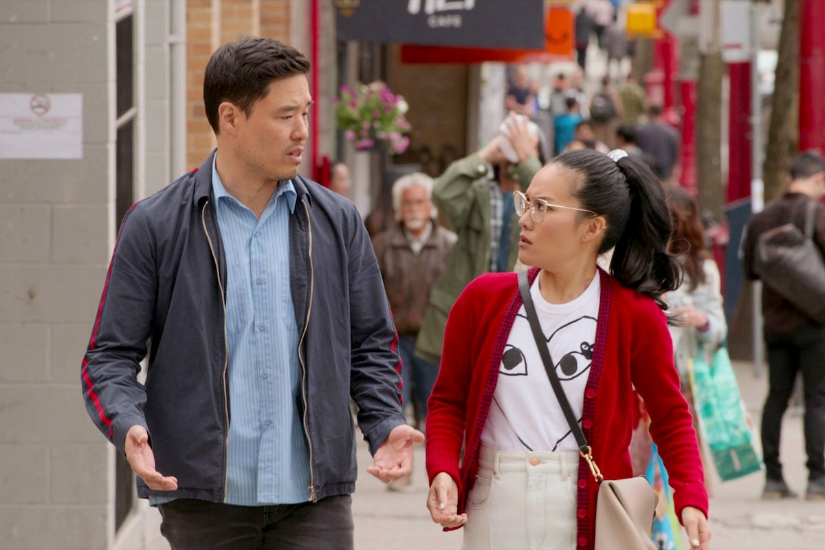 Randall Park and Ali Wong in Netflix's Always Be My Baby.