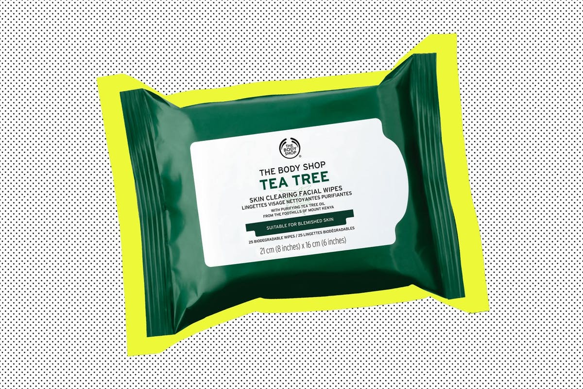 The Body Shop is discontinuing all of its face wipes