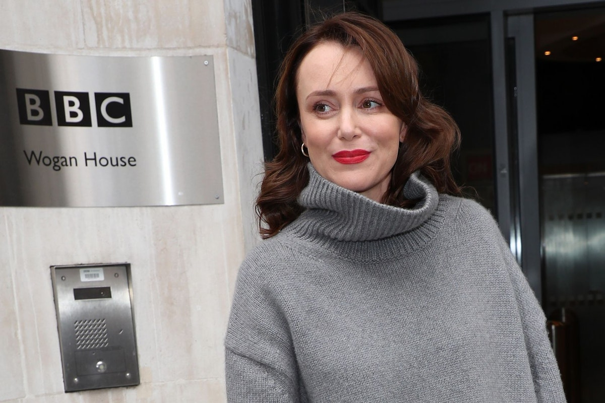 Actor Keeley Hawes discusses her struggle with depression