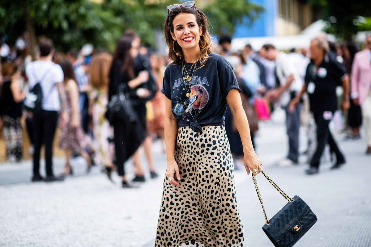 Leopard print midi skirt: why every cool girl in New York is wearing this skirt