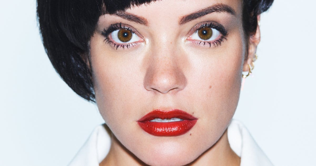 Lily Allen Takes Over - cover