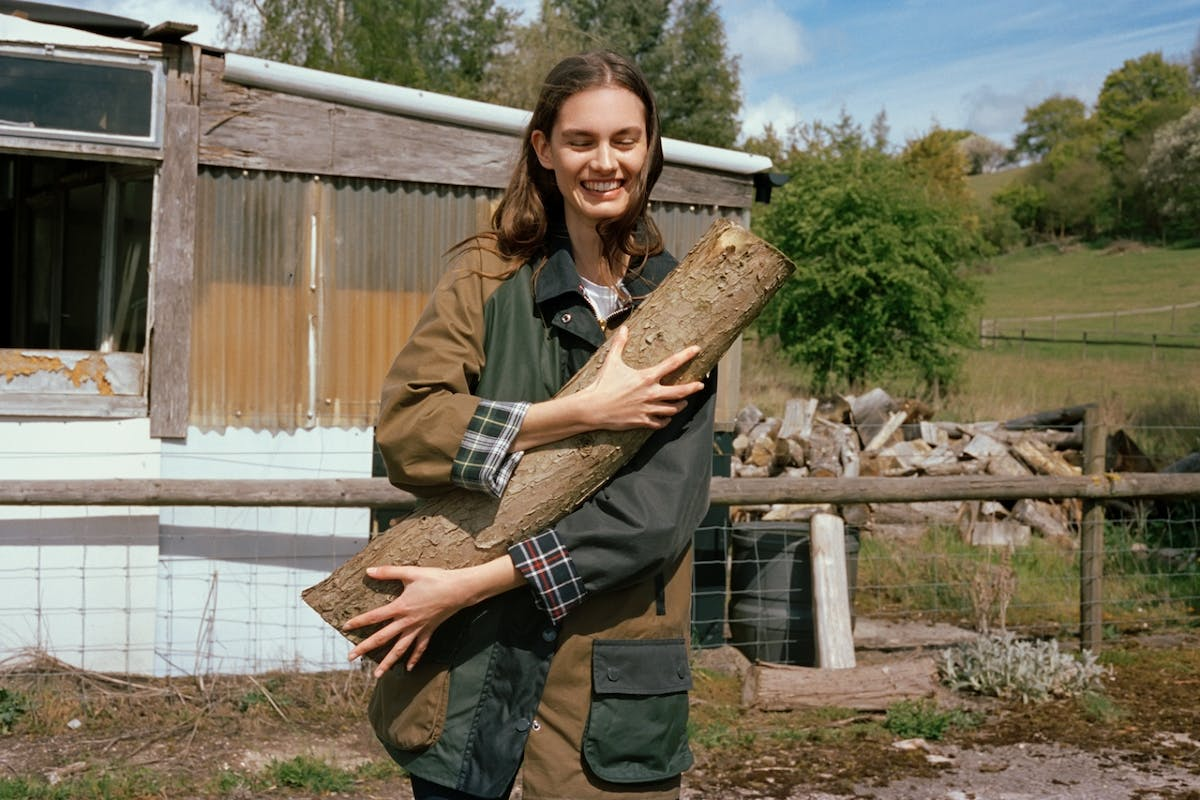 Alexa Chung and Barbour have released the coolest collection in time for Glastonbury